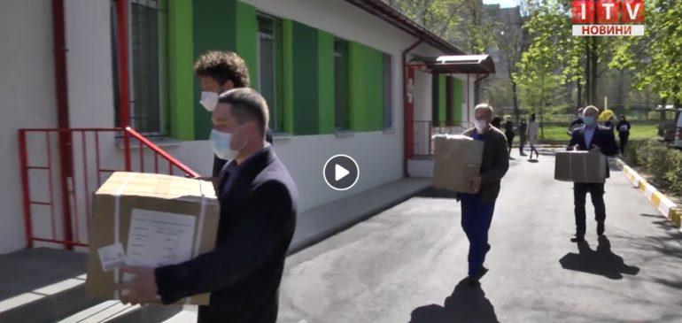 Компанія «ECOSOFT» подарувала ірпінським медикам 200 захисних костюмів.