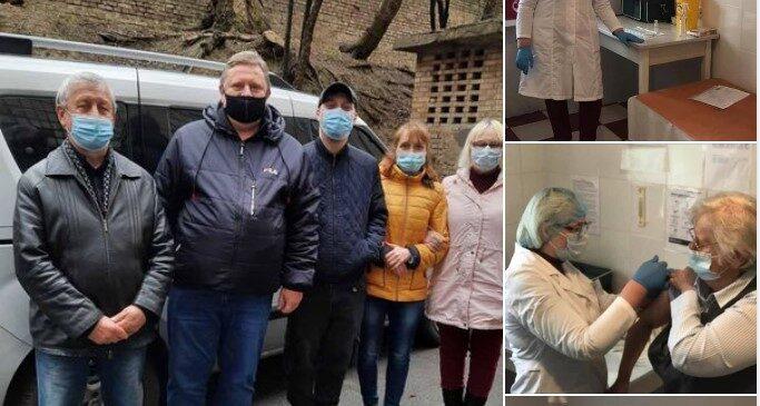 В Україні розпочато вакцинацію препаратом від Pfizer